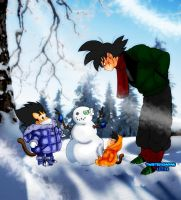 Want to Build a Snowman? by TwistedxSaiyan