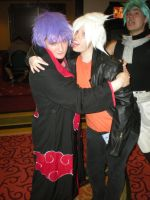 Konan and Soul Eater Evans Cosplayers by snowcloud8