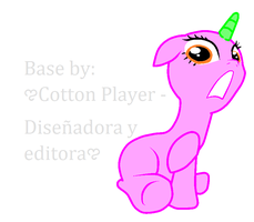 Base pony 02 by Cotton-Player