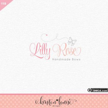 Bow Logo Design by KirstenLouiseArt