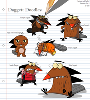 Daggett Doodlez by FantasyFreak-FanGirl