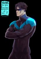 Nightwing gor JeanSinclairArts by jaimito