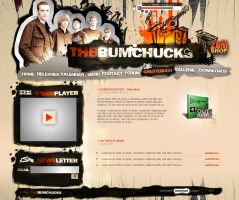 The_bumchucks - band homepage by fee3R