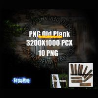 PNG Old Wood Plank by FrostBo