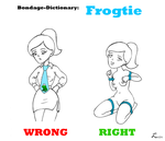 BDSM-Dictionary: Frogtie by luctem