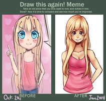Draw This Again Meme by SleepyCelestial