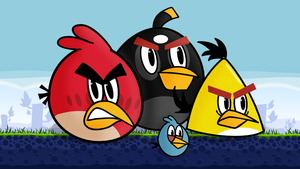 Angry Birds by cartoonsbykristopher