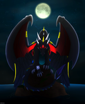 Collab: Darkness Angel Dragon by Razor-Zyrak