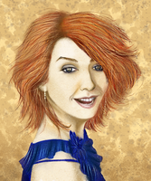 Alyson Hannigan by stormkeeper