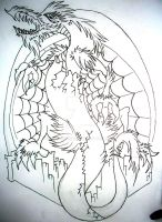 Dragon and Archway for rockgem by ramworship