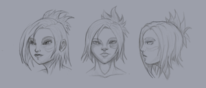 Riven Sketches by CyclesofShadows