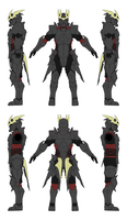 Dark Knight Alternis Dim Ver 1 - Orthographics by Seig-Verdelet