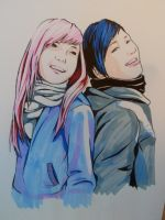 girls color by meilin-mao