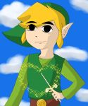 Magical Wind Waker Link by Okatundead