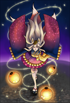 Gaia Online : Kitsuko's Grand Entrance by HitokiriChibi