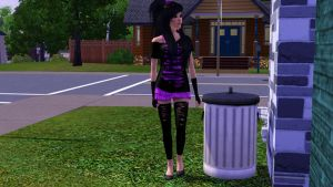 Cute Emo Style :3 by TheSims3KawaiiMaker