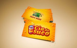 Cia do Suco Business Card by tutom