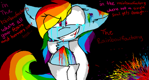 In The Rainbowfactory by lyrictherascal1313
