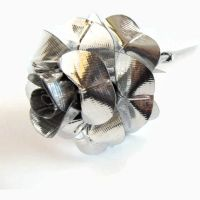 Pure Chrome Duct Tape Rose by DuckTape-Rose