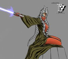 Shaak Ti colored by LightDeity