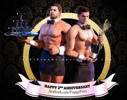 Happy Anniversary for PuppyPiers on FB by xTh13teeNx
