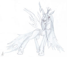 [Sketch] Chrysalis by Ardas91