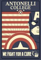 Captain America T-shirt design by stxd3