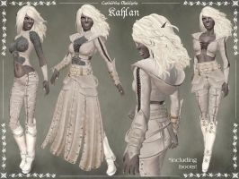 Kahlan Leather Armor by Elvina-Ewing