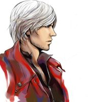Dante color sketch by atomic-cocktail