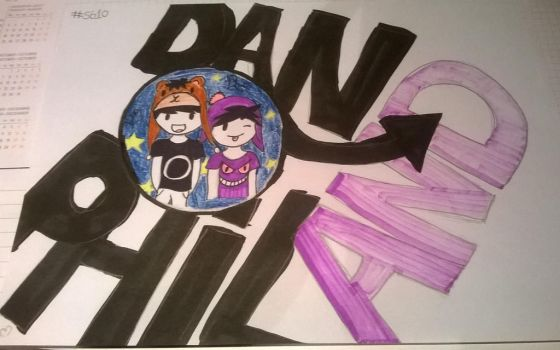 Dan and Phil by sweetyammy