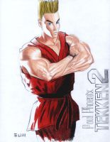 Paul Phoenix, Tekken 2 by eumartleon