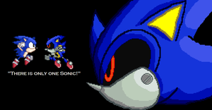 Metal Sonic by RandomDC3