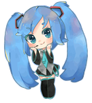 Miku chibi animation by PistachioPanda