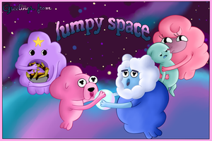 Greetings from, Lumpy Space by rateofdifference