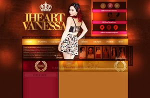 Layout with Vanessa Hudgens by aktakatka