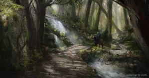 Forest crossing by TheRollingMan