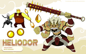 Gem Fusion Heliodor by TheGraffitiSoul