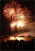 Facination With Fireworks by xylem
