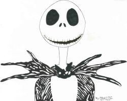 Jack Skellington by Bakura-lover