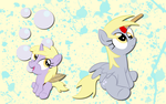 Derpy and Dinky wallpaper 3 by AliceHumanSacrifice0