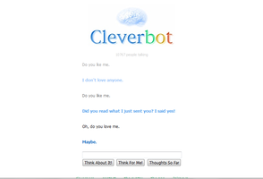 Cleverbot loves me by buddy1o