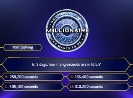 Millionaire 2010:Math Solving by Randydorney