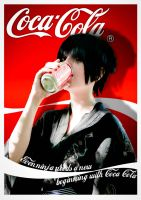 Even ninja drink Coca Cola by Feutre34