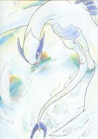 Lugia by Blue-Uncia