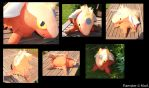 Plushie - Flamster by Gomis