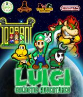 Luigi Galactic Adventures Poster by KingAsylus91
