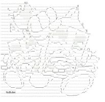 Milk and Cheese ASCII by NoBullet