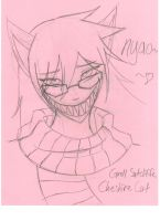 Grell as Cheshire Cat by RhodArt