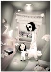 Coraline and the Other Mother by tarapmaiaols