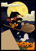 Halloween poster for CJE by Shiny-chan